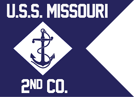 Navy Guidon USS Missouri